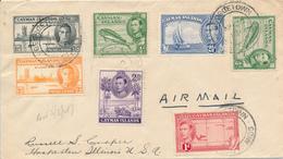 CAYMAN ISLANDS  / GEORGETOWN  -  1947 ,  Brief Nach Hoopestown / USA - Kaimaninseln