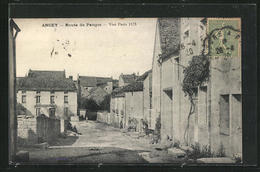 CPA Ancey, Route De Panges - Non Classificati