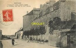 29 Pont-l'Abbé, Le Chateau Des XIIIe Et XVIe Siècles, Affranchie 1913 - Pont L'Abbe