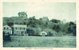 50 - Carteret - Lot De 2 Cartes - Route Dennemont, Route De La Corniche Et Ses Villas - Carteret