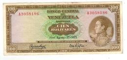 Venezuela 100 Bolivares, 1971. XF. - Venezuela