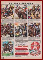 Mère Picon Propose Des Soldats Napoléoniens En Métal. Honoré Flamberge. Napoléon. Révolution Française. Empire. 1964. - Publicités