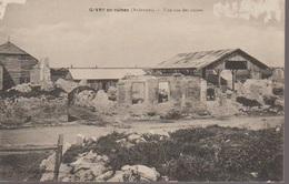 GIVRY  -VUE SUR LES RUINES - Francia