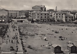 SOTTOMARINA -VENEZIA-PANORAMA-CARTOLINA VERA FOTOGRAFIA- VIAGGIATA IL 14-8-1957 - Venezia