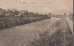 GIVRY  - VUE SUR LE CANAL - France