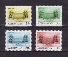 Azerbaijan 1993 - MNH ** - Mi. 107/10 - Architecture , Architektur - Azerbaïdjan Aserbaidschan --- 05 - Azerbaïdjan
