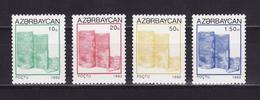 Azerbaijan 1992 - MNH ** - Mi. 75/78 - Azerbaïdjan Aserbaidschan --- 07 - Azerbaïdjan