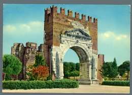 °°° Cartolina - Rimini Arco D'augusto Viaggiata °°° - Rimini