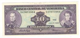Venezuela 10 Bolivares, 1995. UNC. - Venezuela