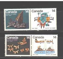 Canada  MNH Folklor 4v - 1952-.... Regno Di Elizabeth II