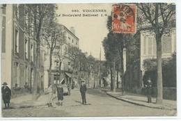 Vincennes-Le Boulevard National - Vincennes