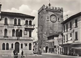 MESTRE-VENEZIA-PIAZZA EDOARDO MATTER-CARTOLINA VERA FOTOGRAFIA-NON VIAGGIATA ANNO 1955-1960 - Venezia (Venice)