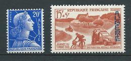 ALGERIE 1957/58 . N°s 349 Et 350 . Neufs ** (MNH) . - Unused Stamps