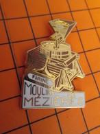 1019 Pin's Pins / Belle Qualité Et Rare / THEME MARQUES : MOULINS DE MEZIERES FARINE Doré à L'or Fin Par Ballard - Trademarks