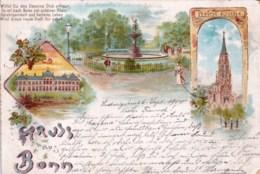 Deutschland -  Gruss Aus BONN - Litho 1900 - Bonn