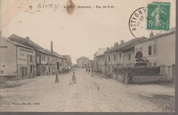 GIVRY -RUE DU PONT - France