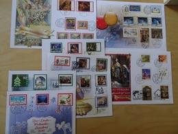 Bund/A/CH/FL 8 Luxusbriefe Mit Weihnachtsmarken (13320) - BRD