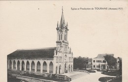 CARTE POSTALE   Eglise Et Presbytère De TOURANE  Viêt Nam - Viêt-Nam