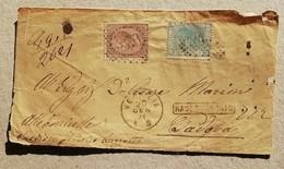 Vittorio Emanuele II N.4 Frontespizi Misti Completi Dei Dati - 1861-78 Vittorio Emanuele II