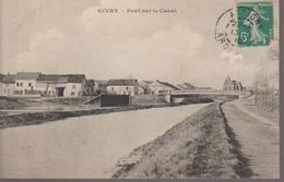 GIVRY - PONT SUR LE CANAL - France