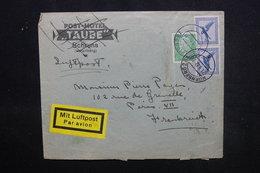 ALLEMAGNE - Enveloppe De Nürnberg Pour Paris En 1932 Par Avion, Affranchissement Plaisant - L 52856 - Storia Postale