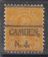 USA Precancel Vorausentwertung Preo, Locals New Jersey, Camden 642-493 - Vereinigte Staaten