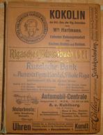 Lettland - Riga - Rigasches Adressbuch 1911 - 1044 Seiten - Libros, Revistas, Cómics
