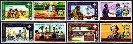 Kenya 216 / 23 75e Anniversaire Des Scouts Et 60e Anniversaire Des Guides - Kenya (1963-...)