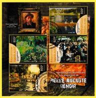 Bloc Oblitéré - Commémoration Des 100 Ans De La Disparition De Pierre-Auguste Renoir - République Togolaise 2019 - Togo (1960-...)