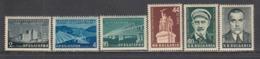 Bulgaria 1955 - Bulgarian-Soviet Friendship, Mi-Nr. 973/78, MNH** - 1945-59 People's Republic