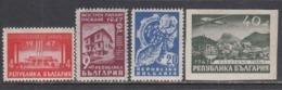 Bulgaria 1947 - Foire De Plovdiv, YT 544/46+PA 51, Neufs** - 1945-59 República Popular