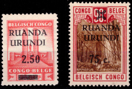 Ruanda 0119/20  Sans Gomme / Without Gum - Ruanda-Urundi