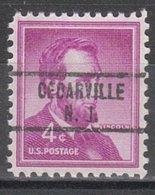 USA Precancel Vorausentwertung Preo, Locals New Jersey, Cedarville 734 - Vereinigte Staaten