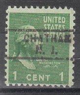 USA Precancel Vorausentwertung Preo, Locals New Jersey, Chatham 729 - Vereinigte Staaten