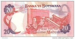 BOTSWANA P. 27a 20 P 2004 UNC - Botswana