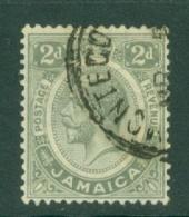 Jamaica: 1912/20   KGV    SG60    2d    Grey    Used - Jamaica (...-1961)