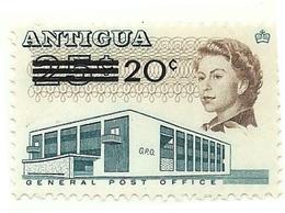 1970 - Antigua 227 Soprastampato - Antigua & Barbuda (...-1981)