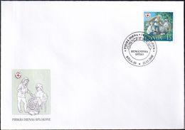 LETTLAND 2000 Mi-Nr. 533 FDC - Latvia