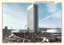 92 - Gennevilliers - La Salle Des Fêtes - Le Conservatoire De Musique - L'Hôtel De Ville - Le Centre Administratif - Gennevilliers