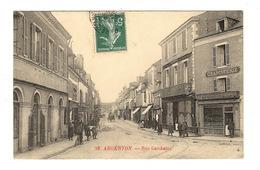 36 INDRE - ARGENTON Rue Gambetta - Andere Gemeenten