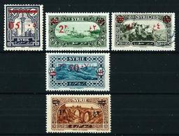 Siria (Francesa) Nº 188/91-199*/(*)/º - Unused Stamps