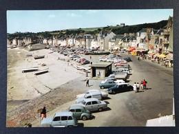 CPSM Cancale Bretagne Ile Vilaine Le Port Plage Renault 4 Fourgonnette 4CV Dauphine Peugeot 403 Citroën DS - Cancale