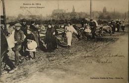 Nieuwpoort - Nieuport / Militair // Guerre // Refugies Quittant Nieuport 1914 - Nieuwpoort