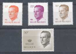 D - [152359]TB//**/Mnh-N° 2124/27, Type Velghe Dont Grand Format, Papier épacar, Gomme Blanche, SC, SNC - 1981-1990 Velghe