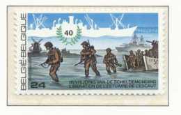D - [152513]TB//**/Mnh-[2188] Belgique 1985, 40 Ans De La Libération De Notre Pays, Libération De L'Escaut, Débarquement - 2. Weltkrieg