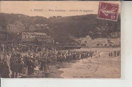 76  -  YPORT -  Fête Nautique -Arrivée Du Gagnant..1929 - Yport