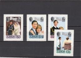 Tonga Nº 480 Al 483 - Tonga (1970-...)