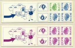 D - [151202]SUP//**/Mnh-B10/11, Carnets De 1973, Type Elstrom, 3-4 Et 5 Frs, SNC - Booklets 1953-....