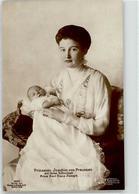 52626244 - Prinzessin Joachim Von Preussen Mit Sohn Prinz Karl Franz Joseph, - Case Reali