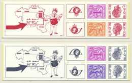 D - [151717]SUP//**/Mnh-B14/15, Les 2 Carnets De 1978, Chiffre Sur Lion Avec Banderole Et Elstrom, SNC - Booklets 1953-....